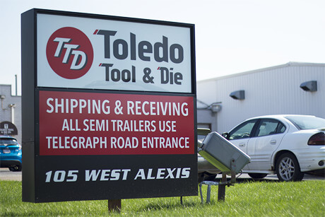 Greetings from Toledo Tool and Die